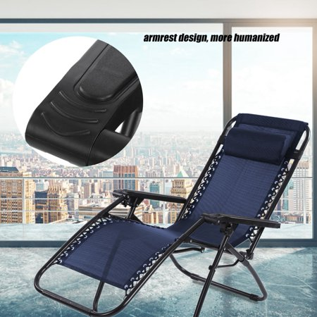Strange Yosoo Portable Folding Outdoor Camping Lounge Beach Garden Recliner Reclining Chair With Armrest Folding Reclining Chair Beach Lounge Caraccident5 Cool Chair Designs And Ideas Caraccident5Info