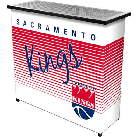 Sacramento Kings Hardwood Classics NBA Portable Bar with Carrying Case by