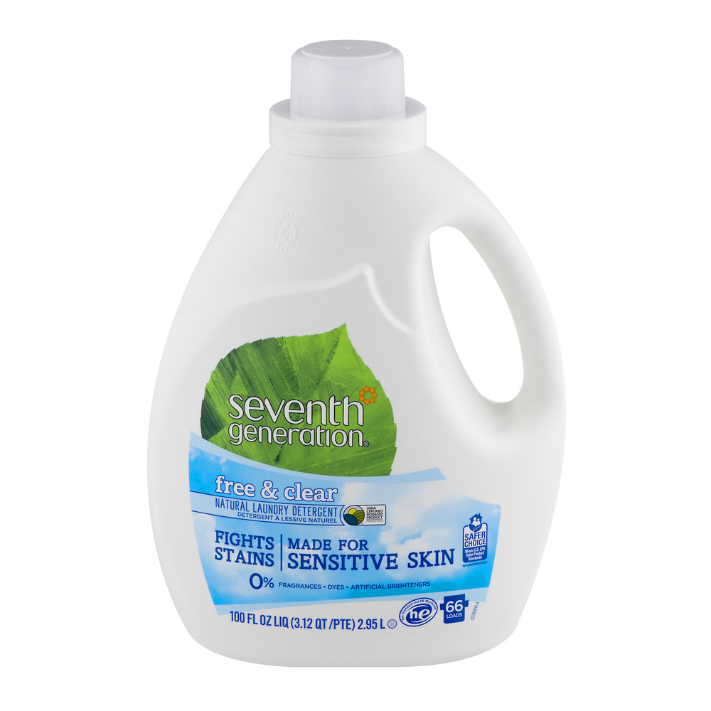 Seventh Generation Free & Clear Natural Laundry Detergent, 100.0 FL OZ