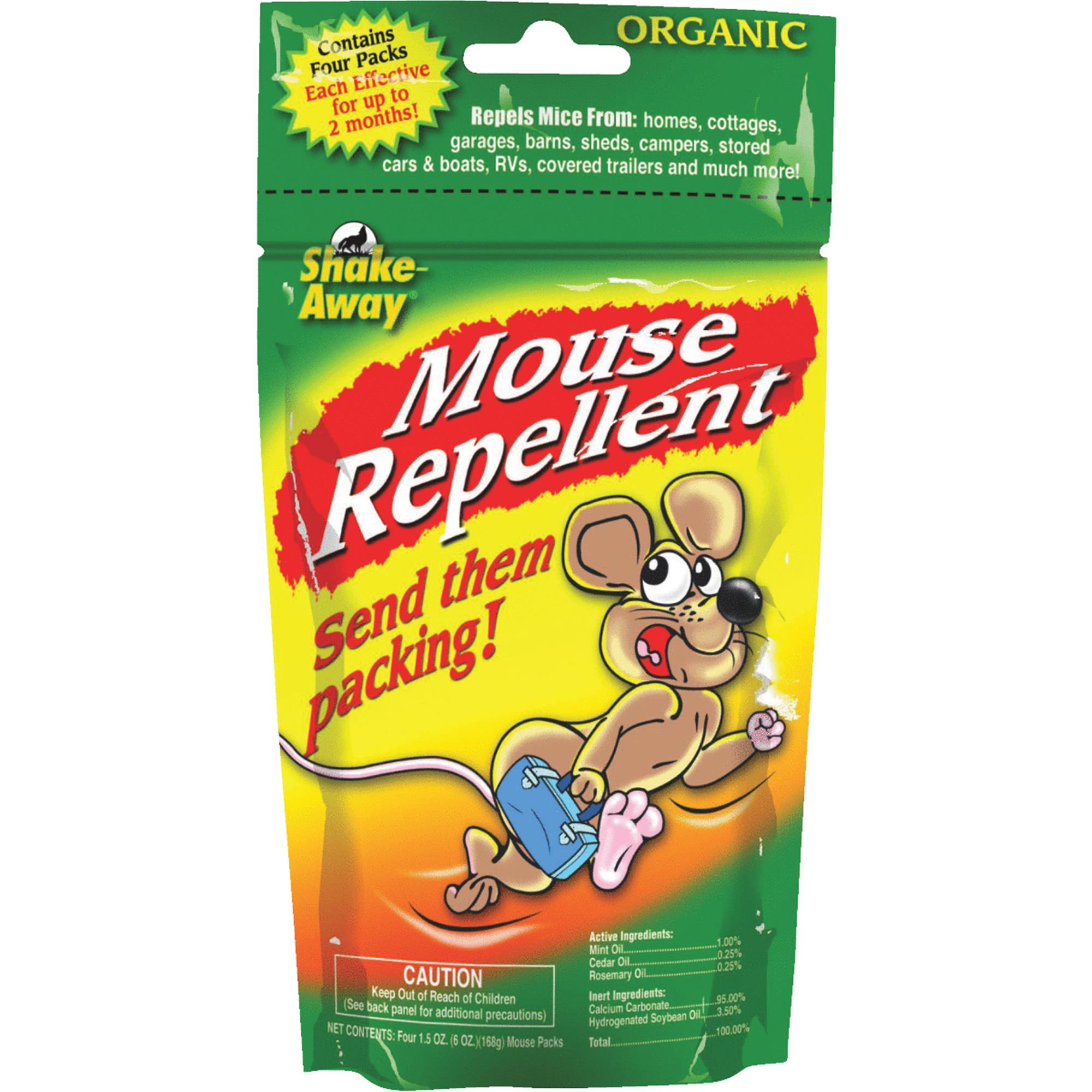 Shake Away Mouse Repellent 6oz Bag