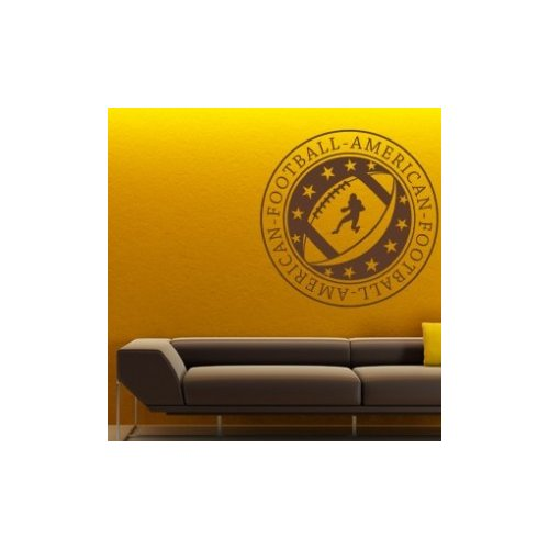 Style and Apply Football Wall Decal