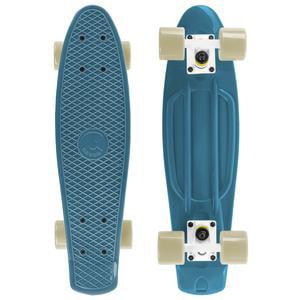 Cal 7 Complete Mini Cruiser Skateboard, 22 Inch Plastic in Retro Design (Oceanic) (Good Skateboards Complete)