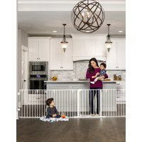 Regalo 6 Panel Super Wide Baby Gate and Play Yard, 2 in 1