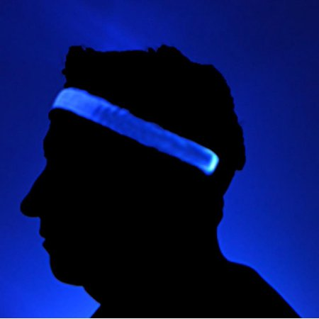 GlowCity Bright LED Light Up High Visibility Headbands - Head Band Light