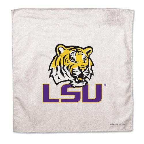 NCAA - LSU Tigers 16x16 Microfiber Rally Towel