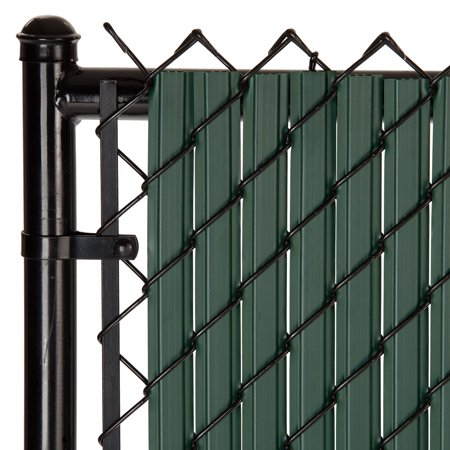 Maximum Privacy Green SoliTube Slats™ for 6ft Chain Link