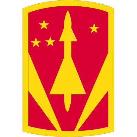 3.8 Inch 31st Air Defense Artillery Brigade Patch Vinyl Transfer Decal