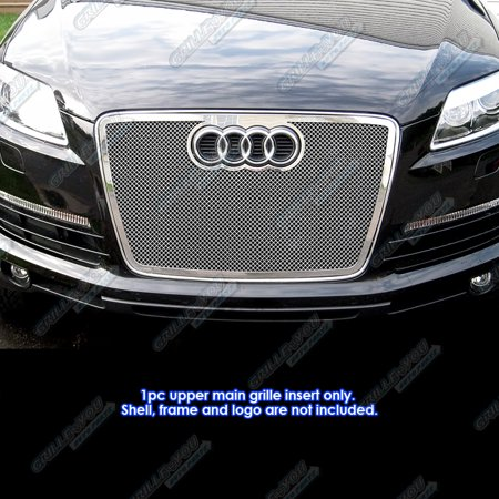 Fits 07-09 Audi Q7 Stainless Steel Mesh Grille Insert ()