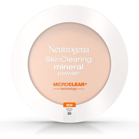 Neutrogena Skinclearing Mineral Powder, Natural Ivory 20,.38 Oz. (Natural Radiance Mineral Powder)