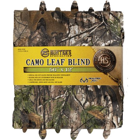 dp ac advantage camo net specialties hardwoods leaf hunter material s green realtree x hunters blind camosystems blinds