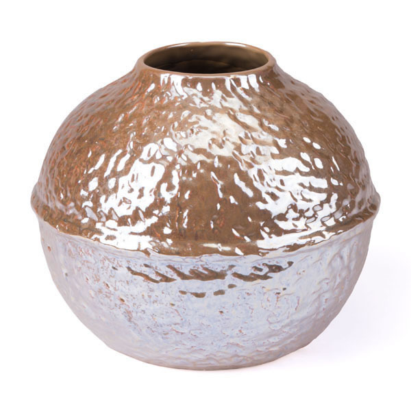 Textured Small Vase Pearl Yellow