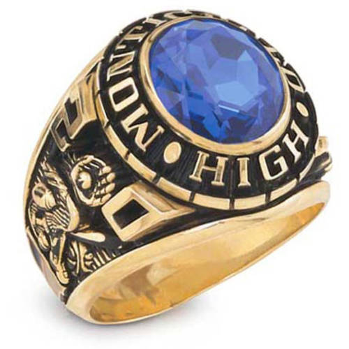 Keepsake Guys' Classic Oval Class Ring