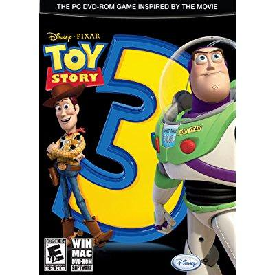 Toy Story 3 The Video Game - PC - Toy Story Game