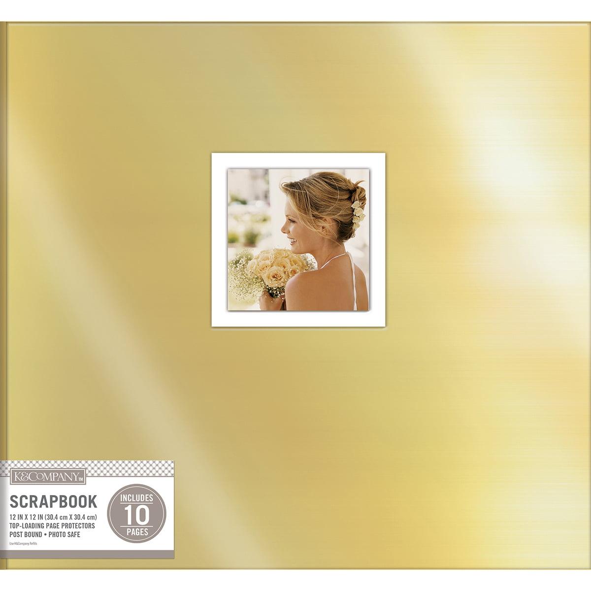 "K&Company Patterned Post Bound Window Album, 12"" x 12"""