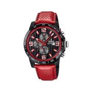 Festina The Originals Chronograph Red Leather Strap Men's Watch F20339/5