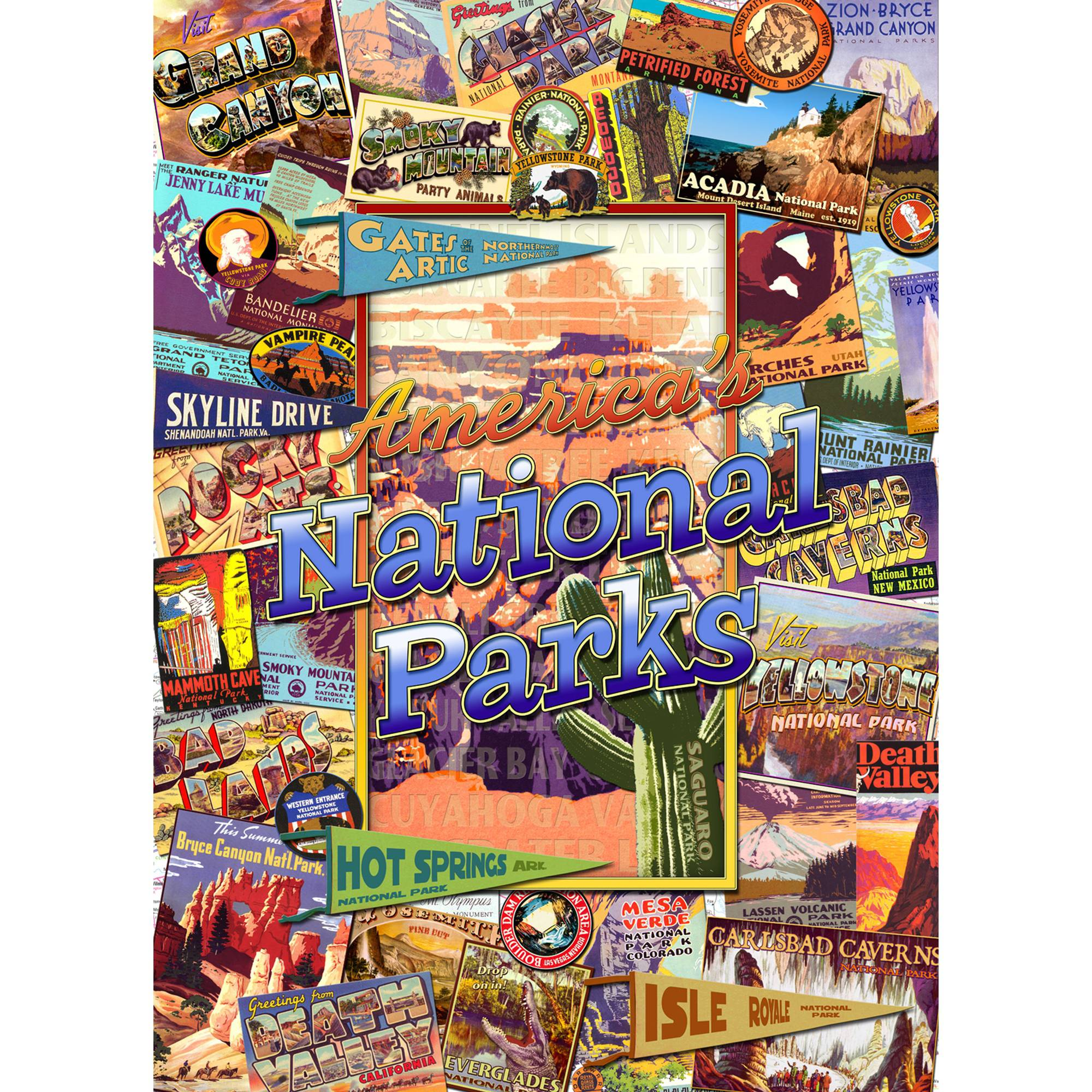 MasterPieces National Parks 1000 Piece Puzzle by MasterPieces