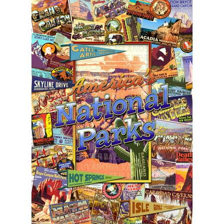 MasterPieces National Parks 1000 Piece Puzzle