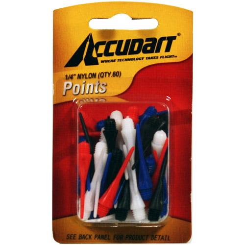 "Image of Accudart 3/16"" Nylon Dart Points, 60-Pack"