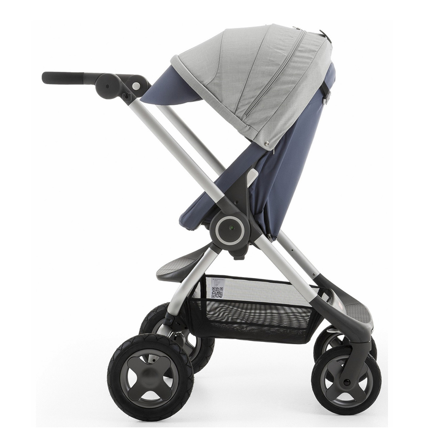 Stokke SCOOT V2 Baby Stroller in SLATE BLUE