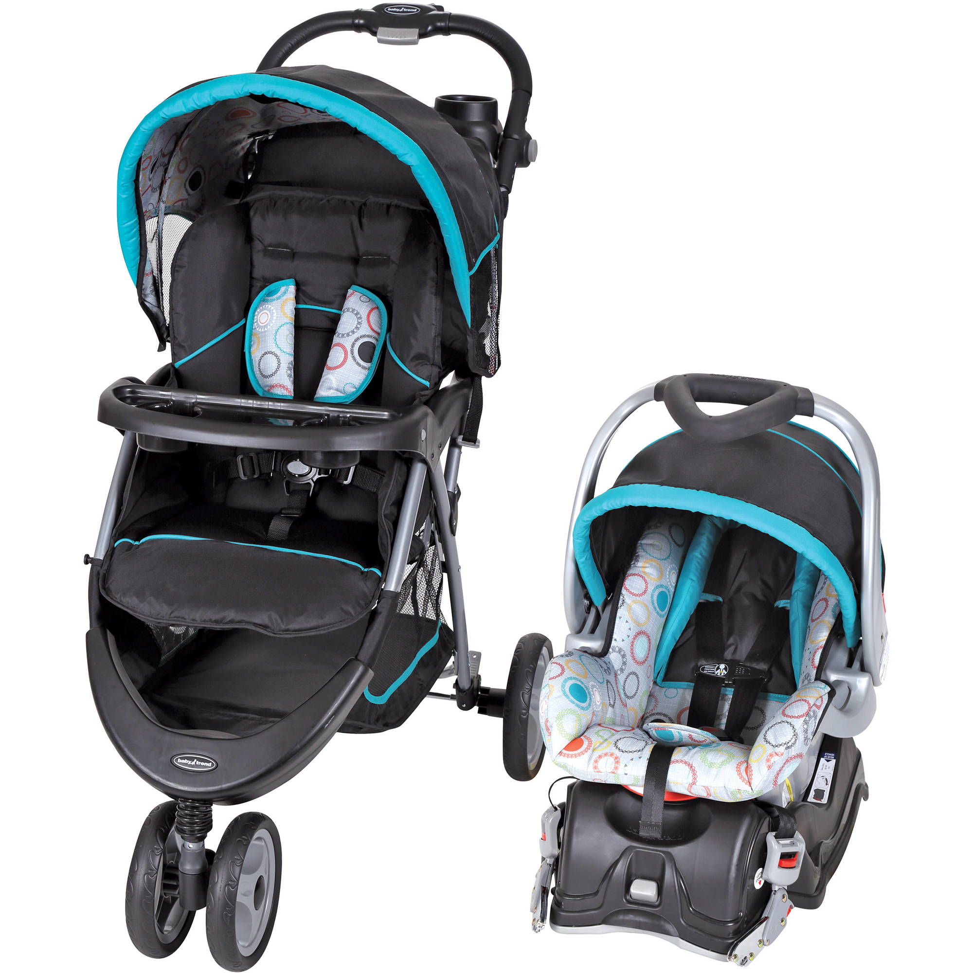 Baby Trend Expedition Jogger Travel System Electric Lime