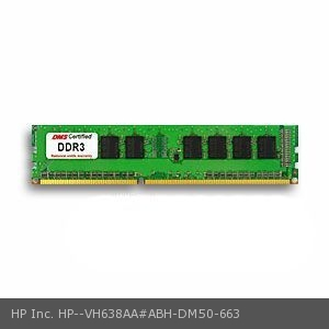 HP Inc. VH638AA#ABH equivalent 4GB DMS Certified Memory DDR3-1333 (PC3-10600) 512x64 CL9  1.5v 240 Pin DIMM - DMS