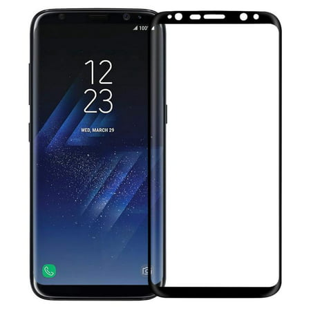36ed8607606e4d Samsung Galaxy S8+ Plus Tempered Glass Screen Protector Cover Dot Matix  Curved Edge Protection HD Clear ...