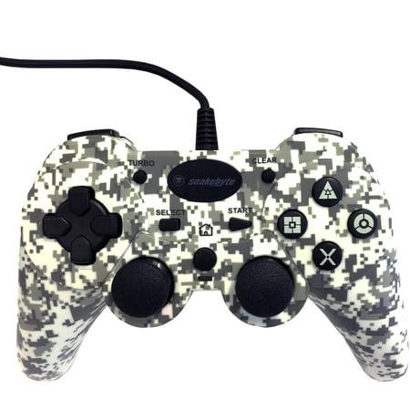 4b4f7b8907b Snakebye PlayStation 3 Wired Controller, Camo - Walmart.com
