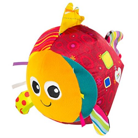 Toys R Us Santa Rosa (lamaze - rolling rosa toy, help baby reach, push, and get crawling by supporting tummy time with bright colors, easy motion, and fun chimes, 6 months and)