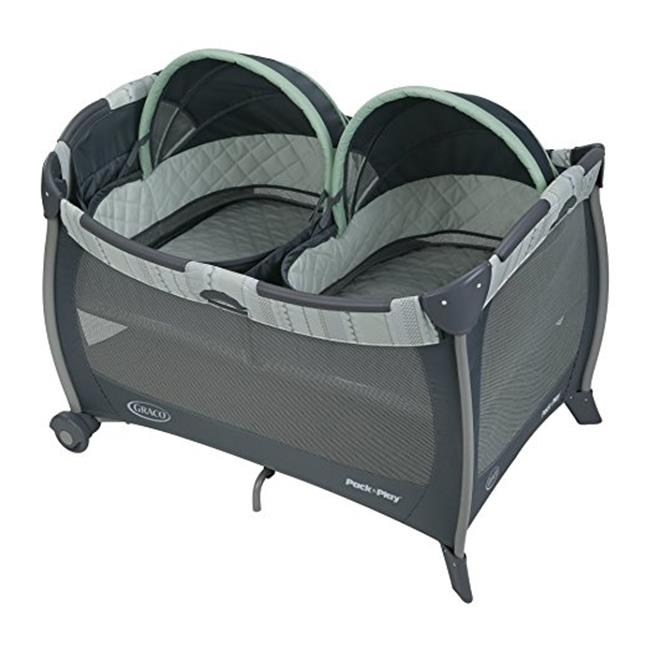 Pack N Play Play Pen With Twins Bassinet Mason by BabyBars