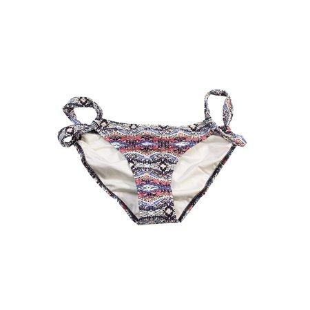 Volcom  Mauve Multi Printed Wild Younder Bikini Bottom M