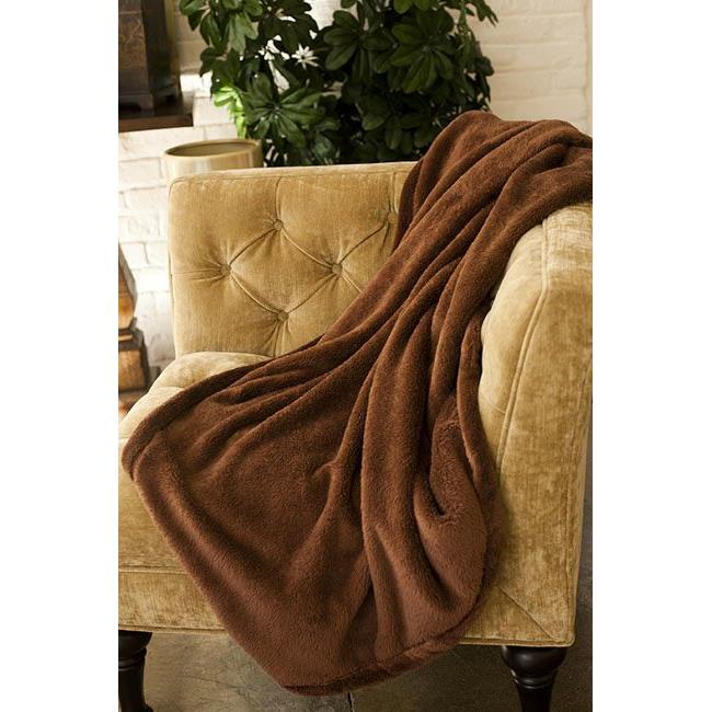 Woven Workz 069-114 Bobbi Throw, Ruby