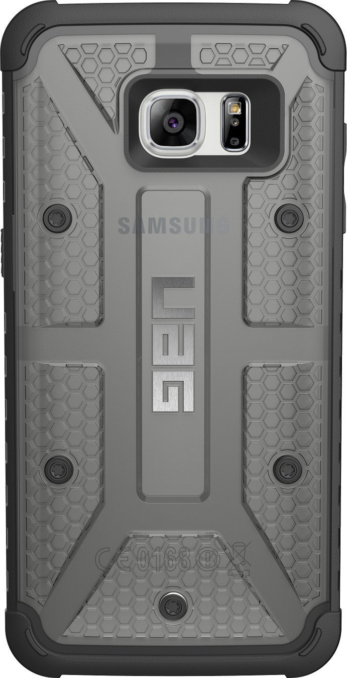 UAG Samsung Galaxy S7 Edge [5 5-inch screen] Feather-Light Composite [ASH]  Military Drop Tested Phone Case