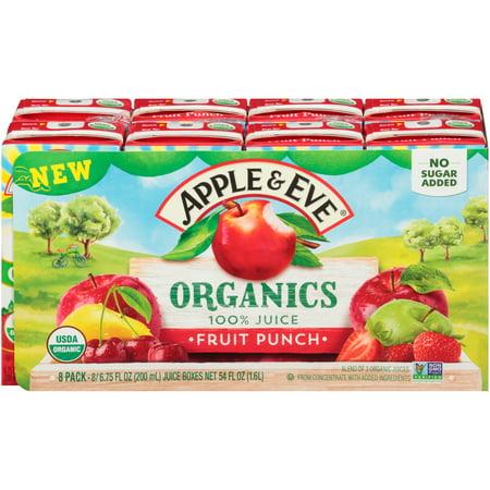 Apple & Eve® Organics Fruit Punch 100% Juice 8-6.75 fl. oz. Aseptic Packs](Hawaiian Fruit Punch Recipe)