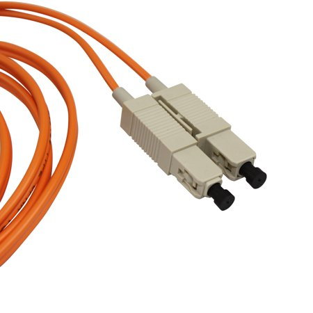 Tyco Amp 504969-2 2 Meter Fiber Optic Sc Duplex Patch Cord Cable