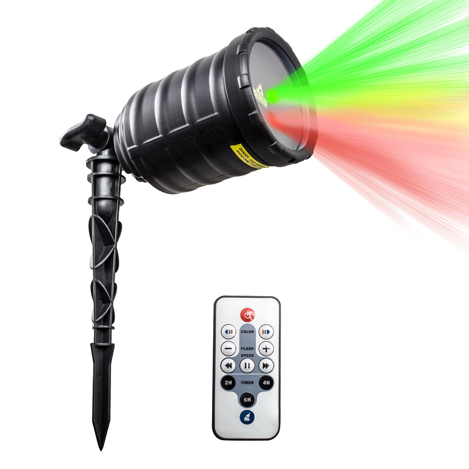 IMAXPLUS Outdoor Laser Light Projector,  Flashing Stage L...