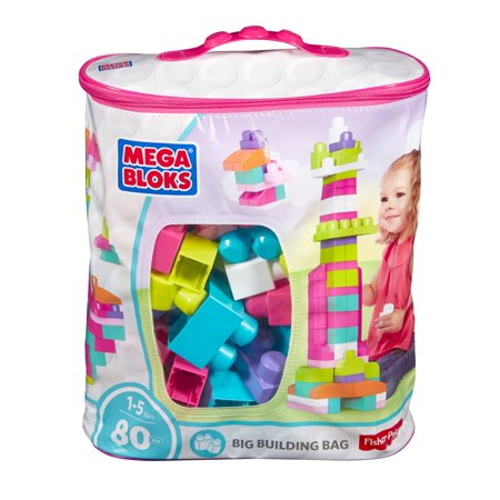 Pink Mega Building Blocks