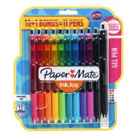 Paper Mate Ink Joy Gel Pens, Medium Point, Assorted Colors, 11 Count