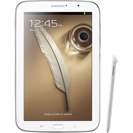 Samsung 8 Galaxy Note 8.0 16GB White Tablet Recertified 90 Day Warranty