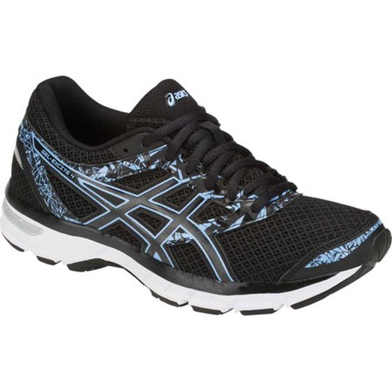 c96ee4b9fb41b ... Rearfoot GEL Cushioning System - attenuates shock during impact phase  Removable sockliner Reflective details. Women's ASICS GEL-Excite 4 Running  Shoe
