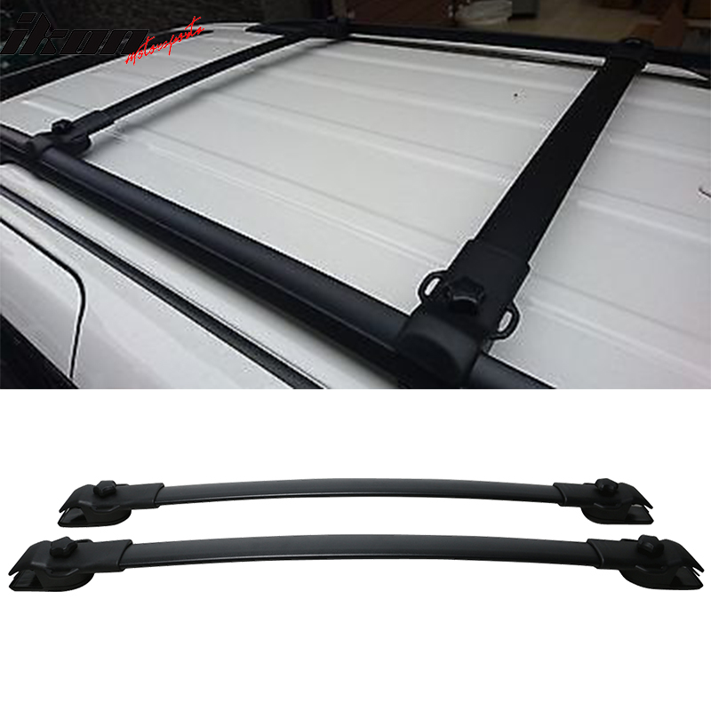 Fits 11-17 Toyota Sienna OE Factory Style Roof Rack Cross Bar Pair 2Pc