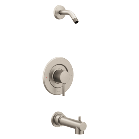 Moen T2193NHBN Align Bath and Shower Faucet with Posi-Temp Pressure ...