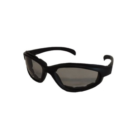 Adult Transition Lens Foam Padded Motorcycle Sunglasses