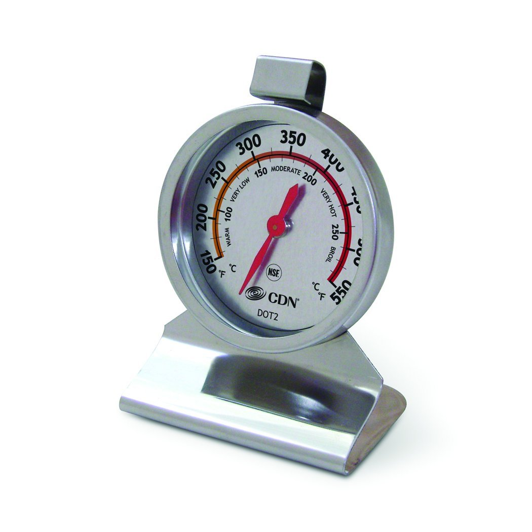 DOT2 � ProAccurate Oven Thermometer � Large Dial, Stainless Steel, NSF Certified, NSF-Certified-Large 2-inch... by