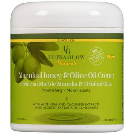 Ultra Glow Naturals Miel de Manuka et huile d'olive Crème, 6 fl oz