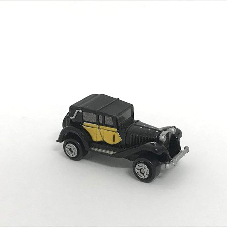 - Micro Machines Miniature Car 1927 Bugatti Type 41 Royale Coupe Black