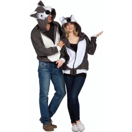smoochi the squirrel adult hoodie costume