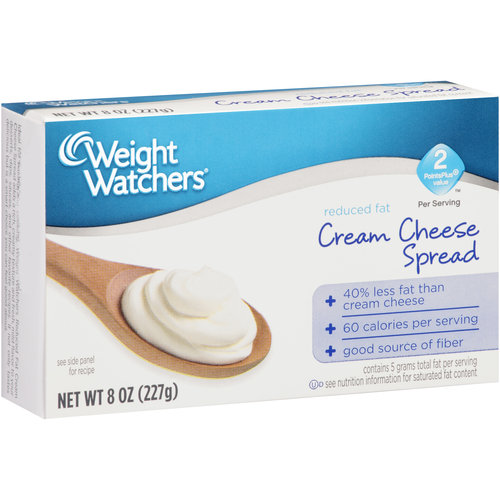Weight Watchers Reduced Fat Cream Cheese Spread, 8 oz