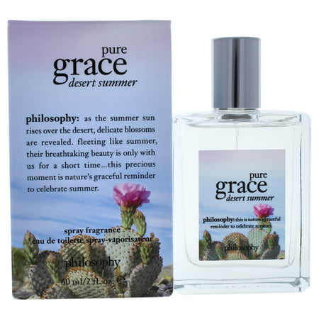 Philosophy Pure Grace Desert Summer Eau De Toilette, Perfume for Women, 2 Oz Desert Sage Perfume Oil