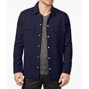 Michael Kors Mens Medium Double Pocket Shirt Jacket
