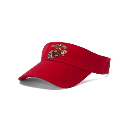 Usmc Eagle Emble Red Adjule Visor